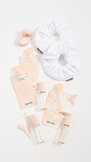 Kitsch Travel Set Blush x White Towel 发带