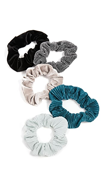 Kitsch Holiday Scrunchie Set