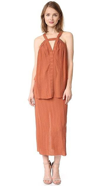 KITX Pleat Scrunch Dress