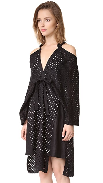KITX Layered Kimono Release Dress