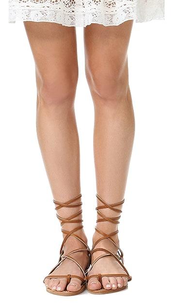 K. Jacques Lucile Wrap Sandals