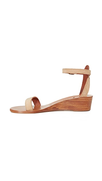 K. Jacques Madison Wedge Sandals
