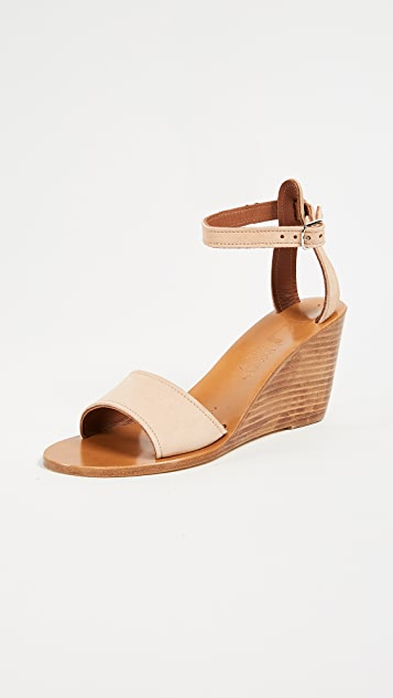 K. Jacques Sardaigne Wedges ...