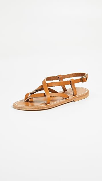 Ingrid Sandals by K. Jacques