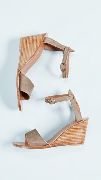 K. Jacques Sardaigne Wedge Sandals
