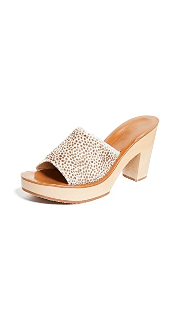 K. Jacques Fiscus Heeled Mules
