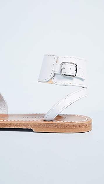 K. Jacques Ares Toe Ring Slides