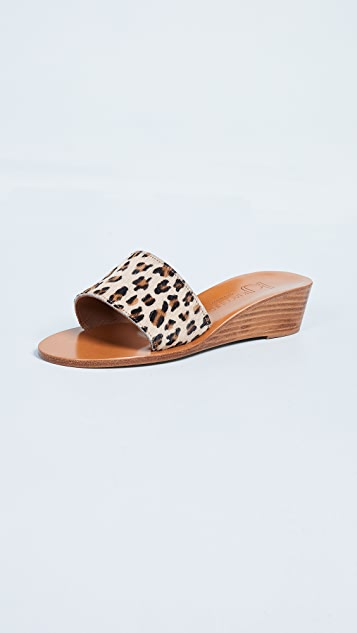 K. Jacques Perla Wedge Slides
