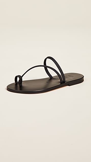 Bolzano Toe Ring Sandals by K. Jacques