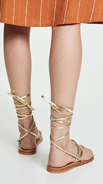 K. Jacques Ellada Wrap Sandals
