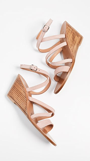 f57cee76f12 K. Jacques Chloe Wedge Sandals ...