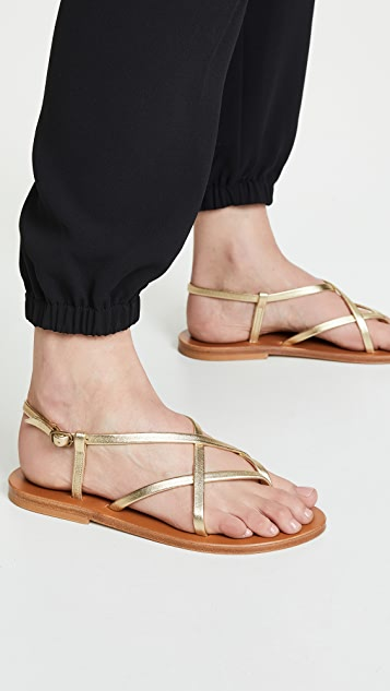 K. Jacques Beluet Wrap Sandals