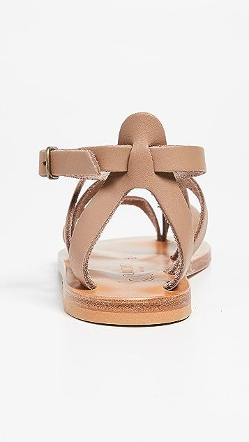 K. Jacques Fusain 凉鞋