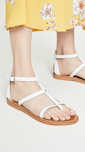 K. Jacques Antioche 凉鞋