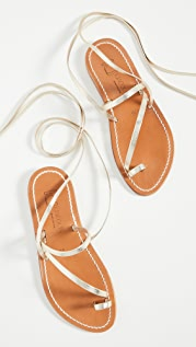 K. Jacques Ellada Wrap Up Sandals