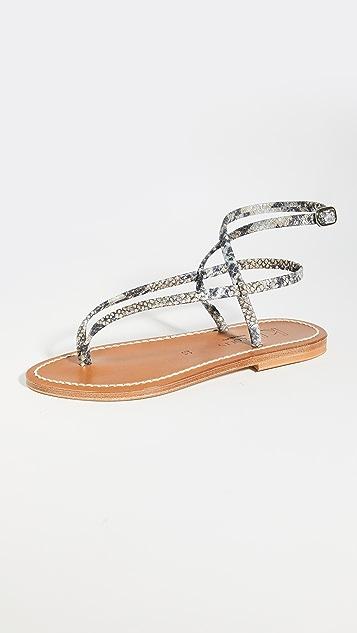 K. Jacques Delta Sandals