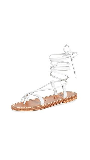 K. Jacques Triserias 凉鞋