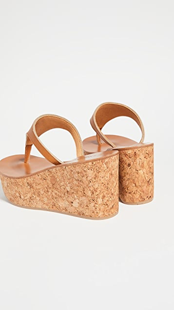 K. Jacques Leda Thong Wedges
