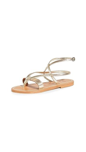 K. Jacques Aubigne Sandals