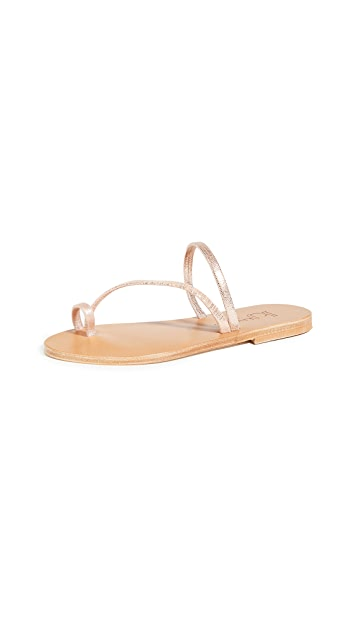 K. Jacques Bolzano Toe Ring Slides