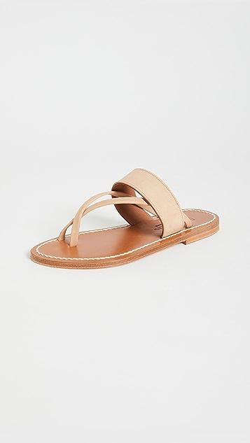 K. Jacques Nehru 凉鞋