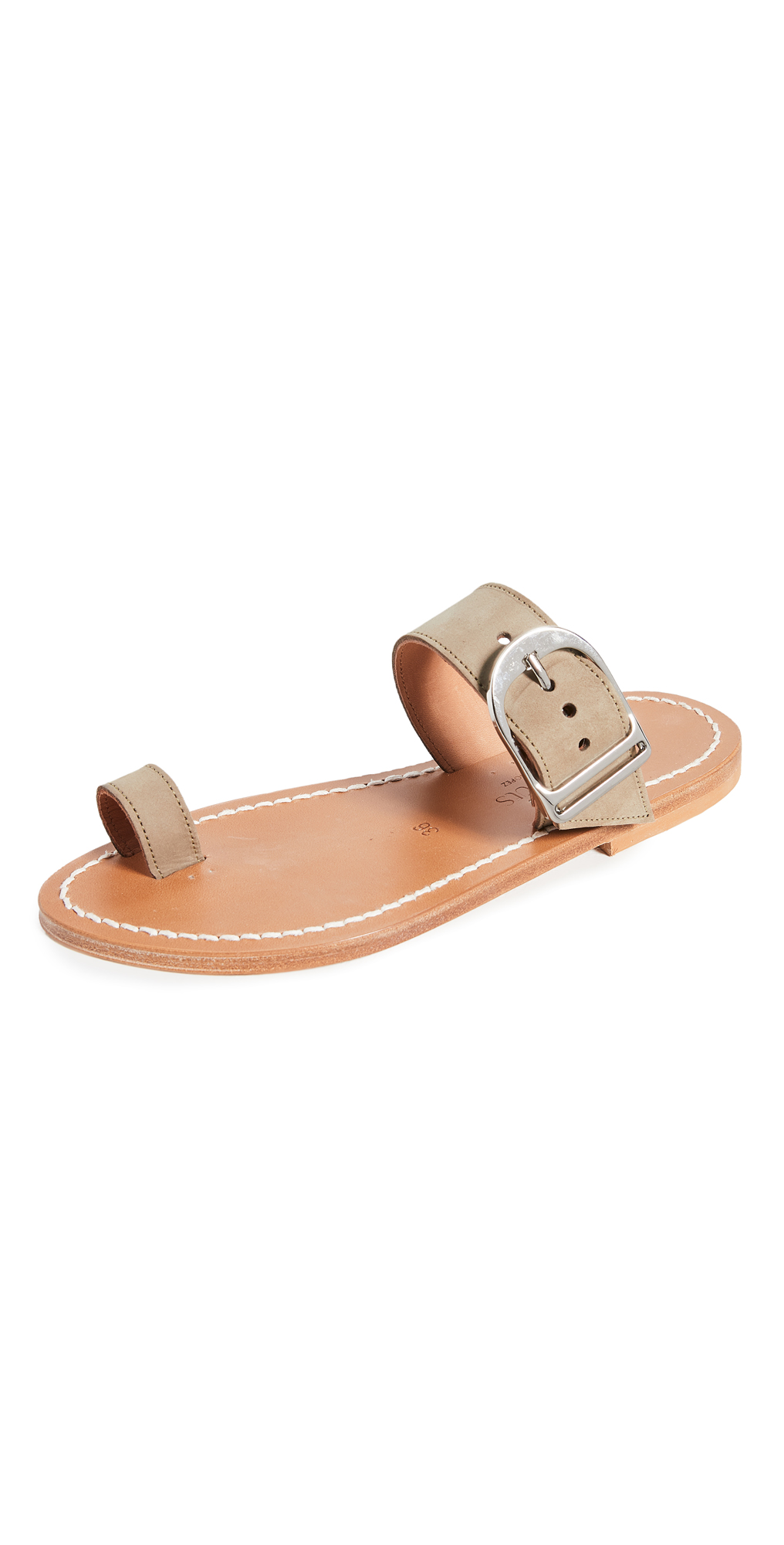 K. Jacques Gallios Toe Ring Sandals