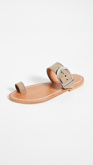 K. Jacques Gallios Toe Ring Sandals