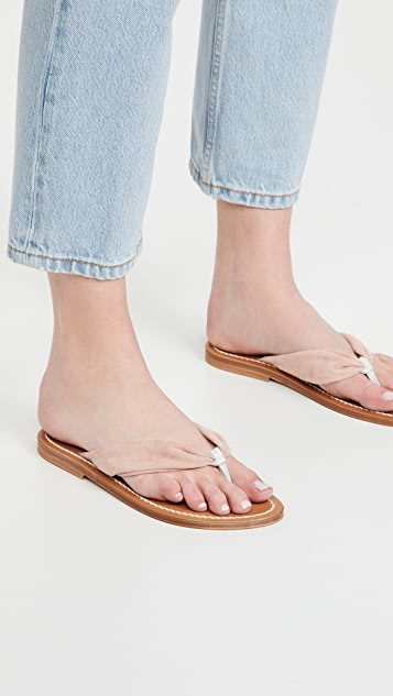 K. Jacques Saba Thong Sandals