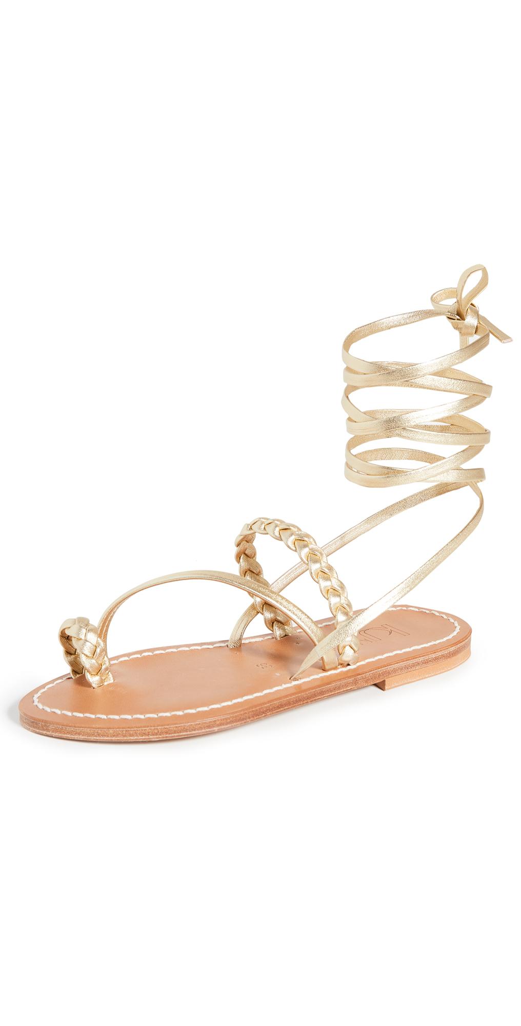 Scara Wrap Sandals