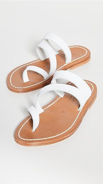 K. Jacques Mercatar 凉鞋