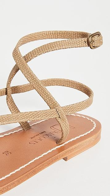 K. Jacques Delta 凉鞋