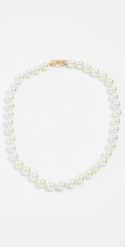 Kenneth Jay Lane - Imitation Pearl Necklace