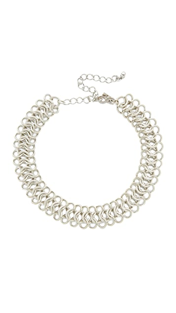 Kenneth Jay Lane Intertwined Choker Necklace