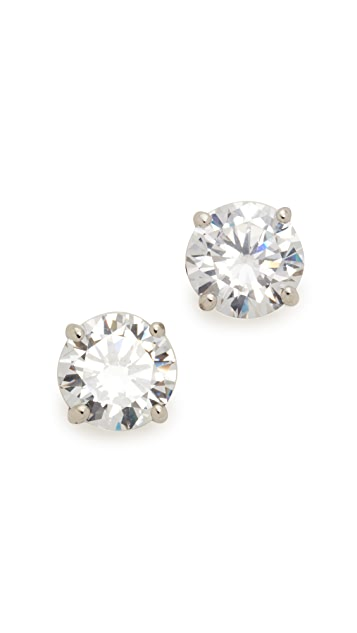 Kenneth Jay Lane Classic Luxe Four Prong Earrings