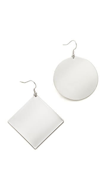 Kenneth Jay Lane Geometric Earrings