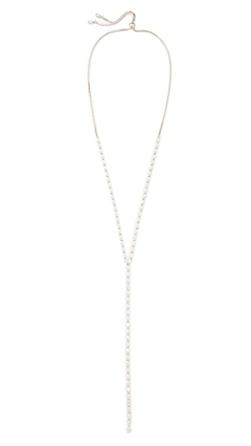 Kenneth Jay Lane Pear Shape Y Necklace