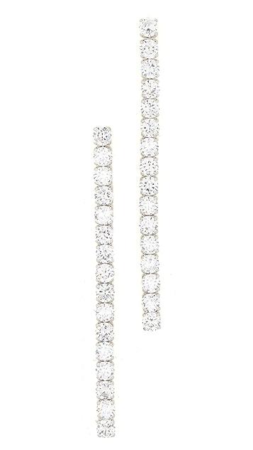 Kenneth Jay Lane Linear Drop Earrings