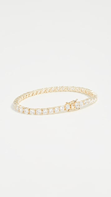 Kenneth Jay Lane Round CZ Bracelet