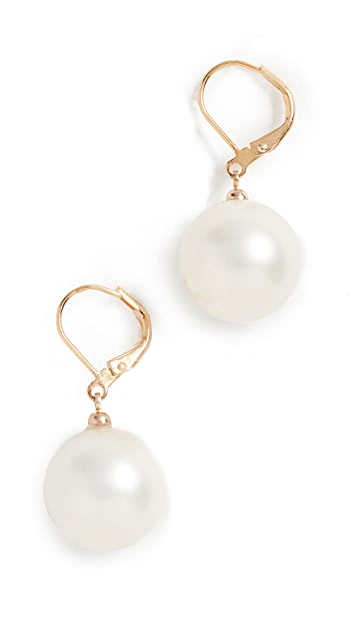 Kenneth Jay Lane Imitation Pearl Earrings