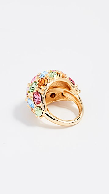 Kenneth Jay Lane Garden Ring