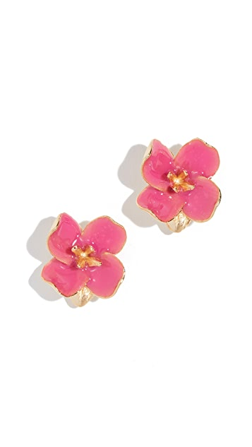 Kenneth Jay Lane Petals Post Earrings