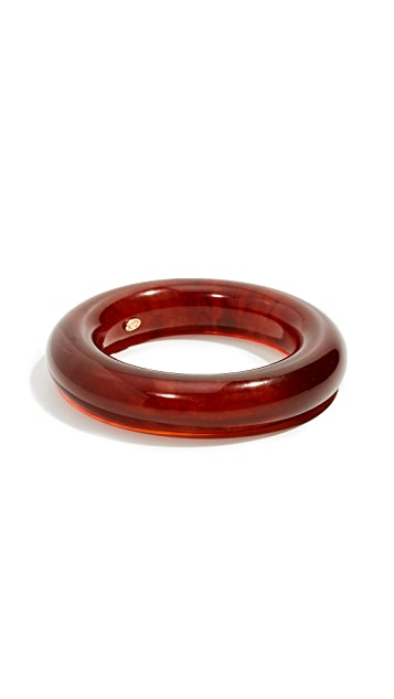 Kenneth Jay Lane Tortoise Resin Bangle