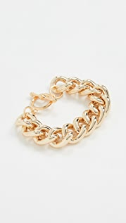 Kenneth Jay Lane Polished Chain Bracelet