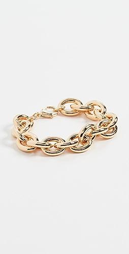 Kenneth Jay Lane - Gold Link Chain Bracelet