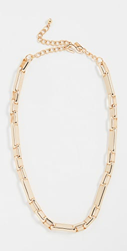 Kenneth Jay Lane - Polished Gold Chain Link Necklace
