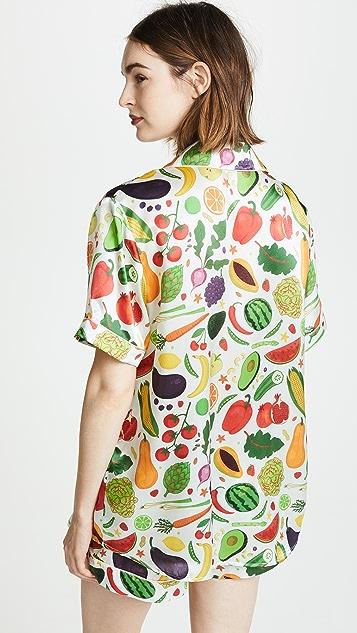 Karen Mabon Healthy Short Sleeve Pajama Set