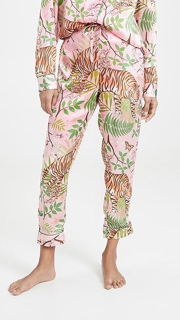 Karen Mabon Tiger Blossom Pajamas