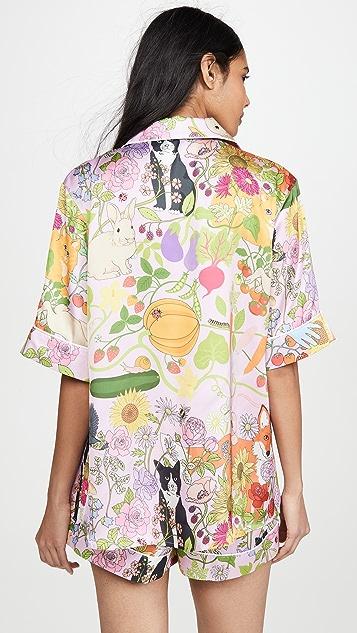Karen Mabon Allotment 短袖睡衣套装
