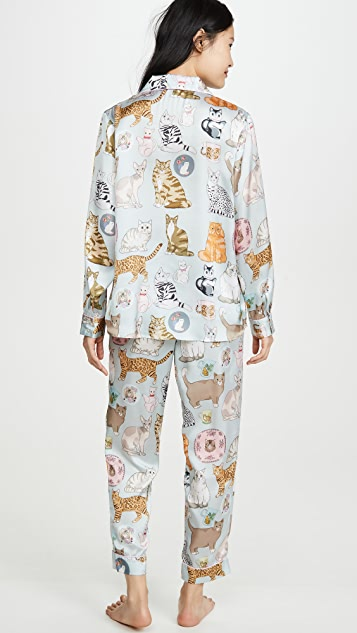Karen Mabon Cat Person Pajama Set
