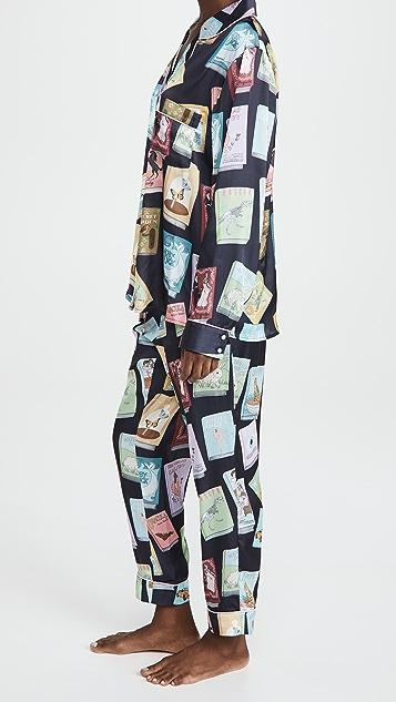 Karen Mabon Book Covers Pajama Set